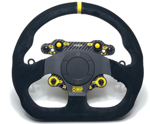 STD24-WSSQ Simucube compatible wireless sim racing steering wheel