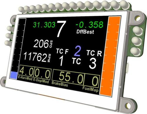 Race LCD v2.1 USB Sim racing display