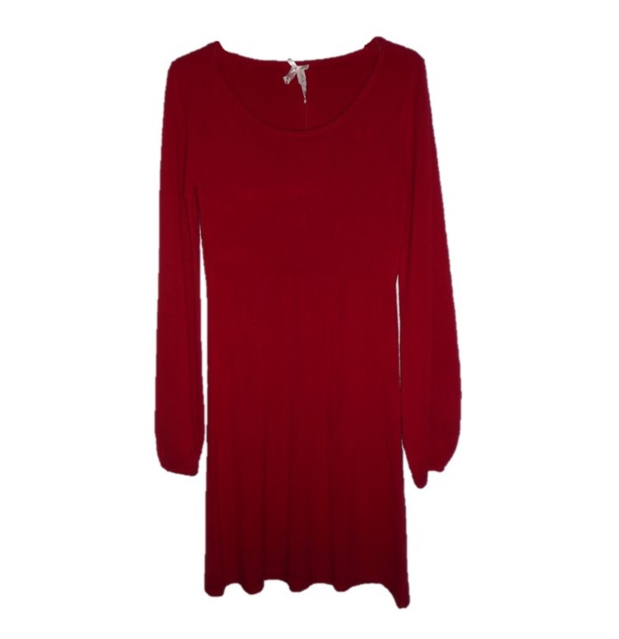 67dcd05d213b Women Red Dress Derek Heart. Women Red Dress Derek Heart  Women s Knit Long  Sleeve Sweater ...