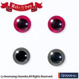 (ME-002)Eyechip: Pink & Gray