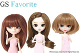 GS favorite:Brown hair set (001,003,005)