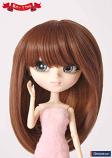 Wig:Brown Straight Hair(MW-005)