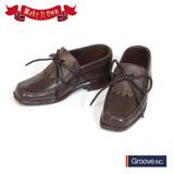 (MS-004)Shoes:Tassel shoes (Brown) x Short Boots (Beige)*