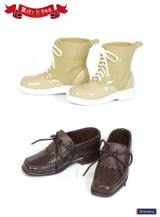 (MS-004)Taeyang Shoes:Tassel shoes (Brown) x Short Boots (Beige)