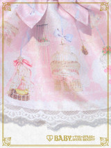 Be My Valentine ~Bless from Juno and the Aria of Birds~ Doll Outfit : Pink