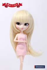Wig:Semi-Long Hair (Platinum Gold)(MW-010)