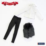 Vest&Jeans Set monotone ver.