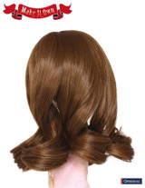Wig:French Braids Curly style-Brown hair color-