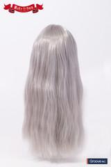 Wig:Wave Style Hair (Grey)(MW-008)