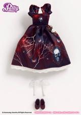 (O-823)Antique Skull dress