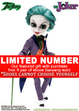 **EXTRA SHOES / DC Comics Joker
