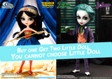 GS favorite:Two Little & Joker &Wonder Woman (T264,P172)