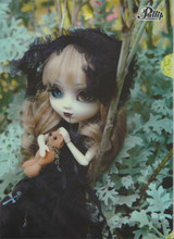 (F-207)Pullip Noir photo A4-sized Paper Document plastic file folder