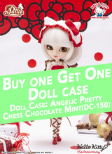 Doll case & Hello Kitty ★45th Anniversary
