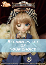 Beginners set of your choice : Alice in STEAMPUNK WORLD
