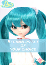 Beginners set of your choice : Vocaloid Miku LOL