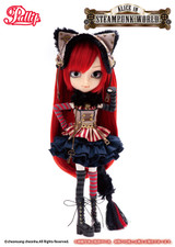 Sample doll /Cheshire Cat in STEAMPUNK WORLD**Eye button is very tight
