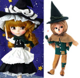 Scarecrow & Kirisame Marisa from Touhou Project