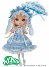 Sample doll / Pullip Aquel  **Hair is messy,**Parasol dirty*Past model may look dirty overall
