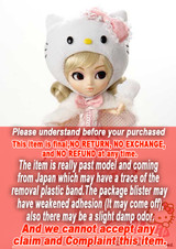 ** Package is yellowing  2007 Model Hello Kitty