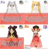 Complete Set :Princess Serenity&Queen Serenity& Kakyu & Kaguya(P143P180,P213,P153)