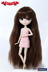 Wig:Wave Style Hair (Brown)MW-007)
