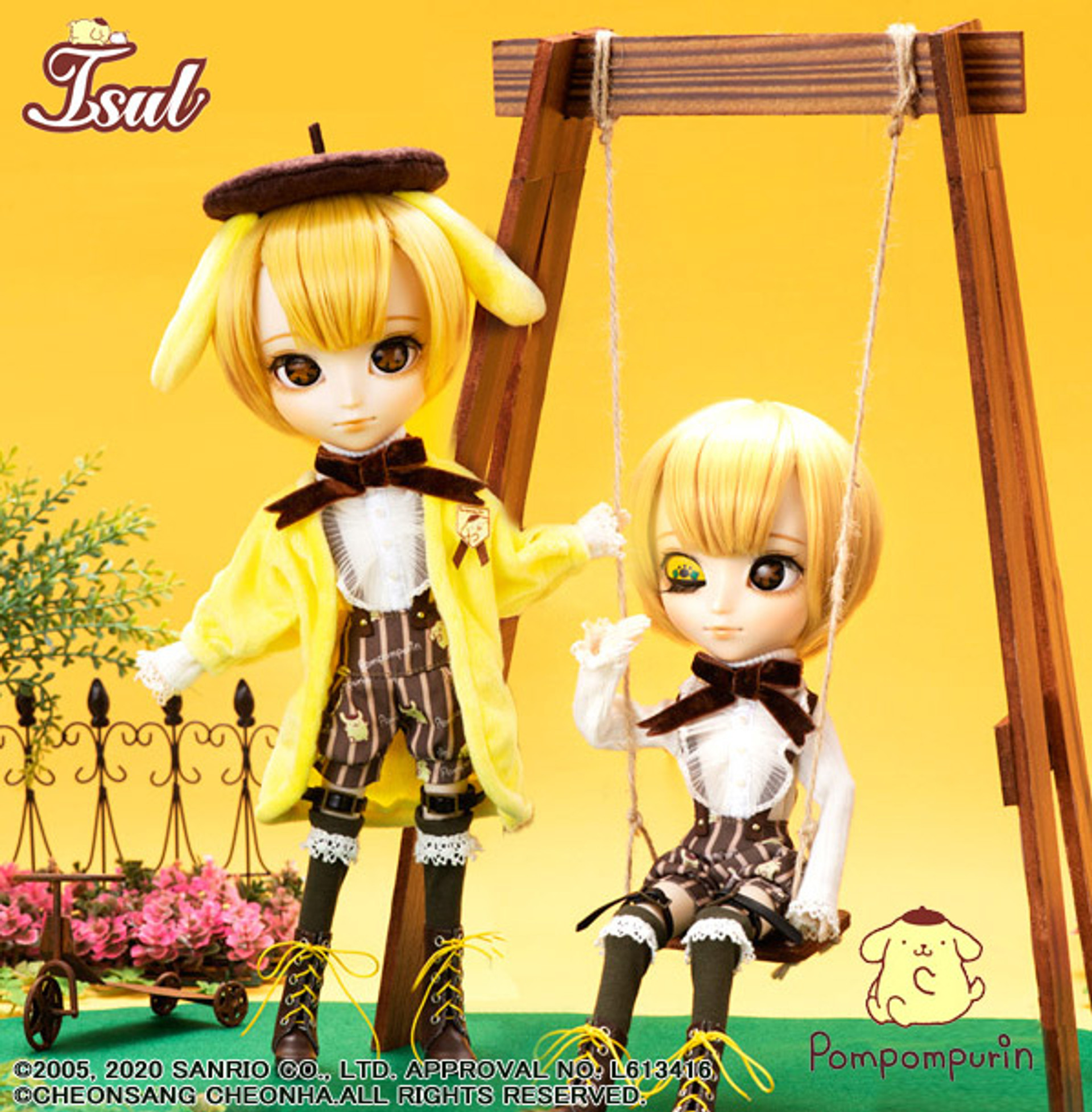 Pullip Groove 1//6 Doll Squall Includes Basket Bag And Hair Accessory From Japan