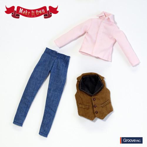 Vest&Jeans Set casual ver.