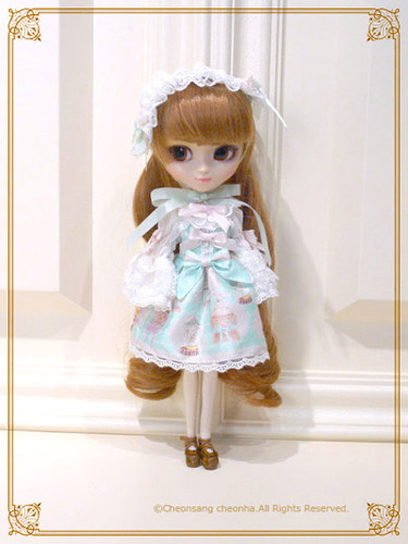 Be My Valentine ~Bless from Juno and the Aria of Birds~ Doll Outfit : Saxe Blue