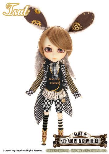 Sample doll / White Rabbit in STEAMPUNK WORLD