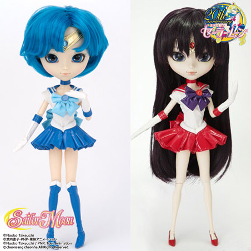 GS favorite:Sailor Mercury& Sailor Mars(P136&P137)