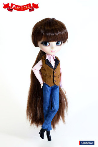 My Select Pullip Merl Body&Vest&Jeans Set casual ver. Set(P174,O822 )