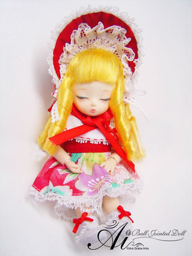 Sample doll /  Prairie gentian