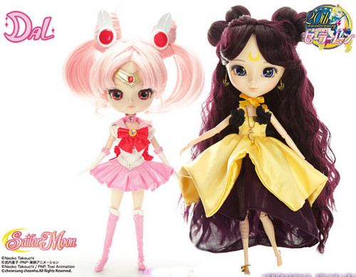 GS favorite: Kaguya & Sailor Chibi Moon(P153,D154)
