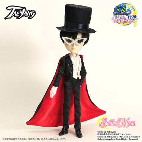 Factory sale /  **Only outfit,No Doll body Tuxedo Mask