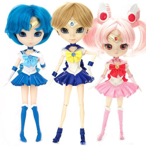 GS favorite: Sailor Uranus& Sailor Mercury &Sailor Chibi Moon (P136,P148,D154)