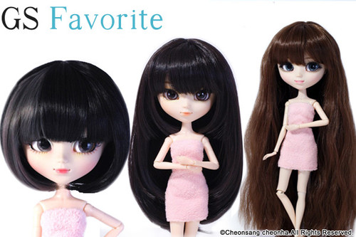 GS favorite:Brunet hair set (004,007,009)