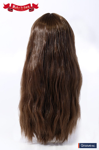 Wig:Wave Style Hair (Brown)