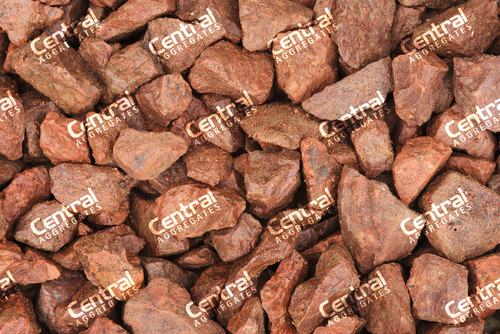 20mm Central Red Chippings