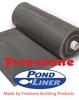 36ft (10.98m) Wide Firestone PondGard Pond Liner 1.02mm Thickness