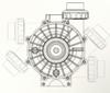 Evolution Aqua Pro Pump 16000 outlet positions