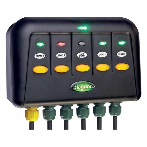 Blagdon power safe 5 switch box