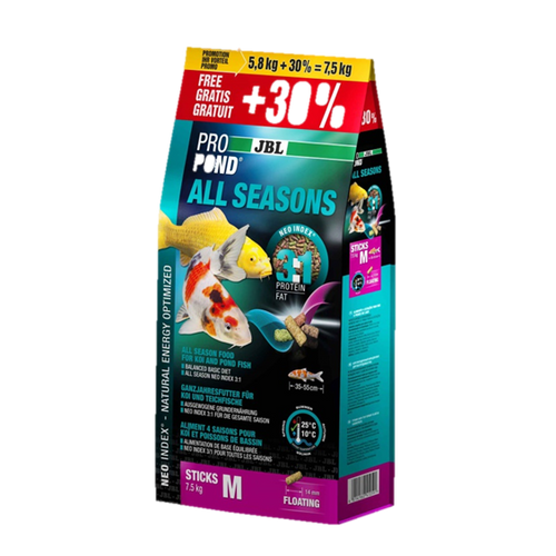 All Season JBL Fish Food 7.5kg Bag