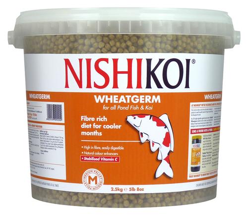 Nishi Koi Wheat Germ 2.5kg Medium Pellet