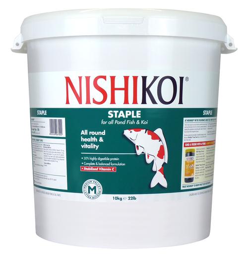 Nishi Koi Staple 10kg Medium Pellet