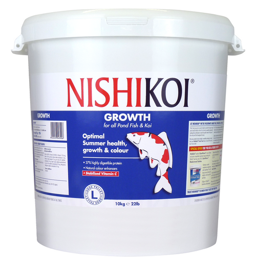 Nishi Koi Growth 10kg Large Pellet