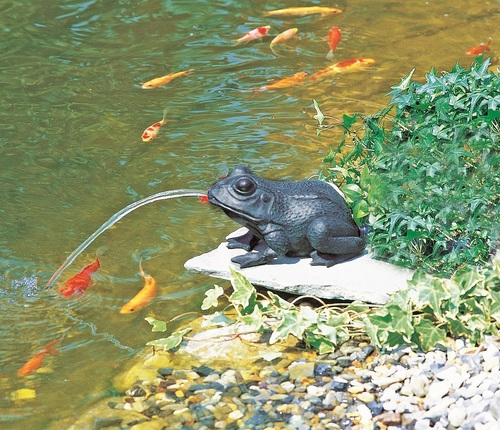 heissner small frog spitter