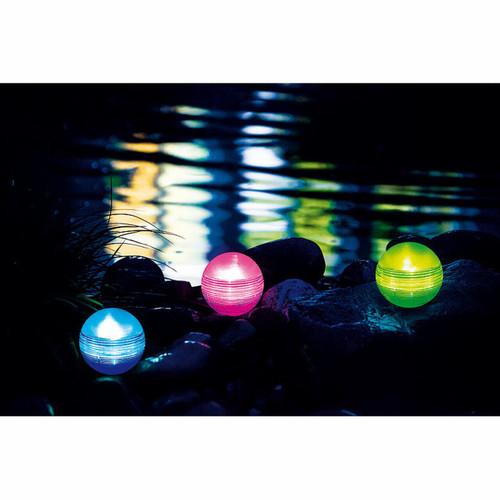 floating globes