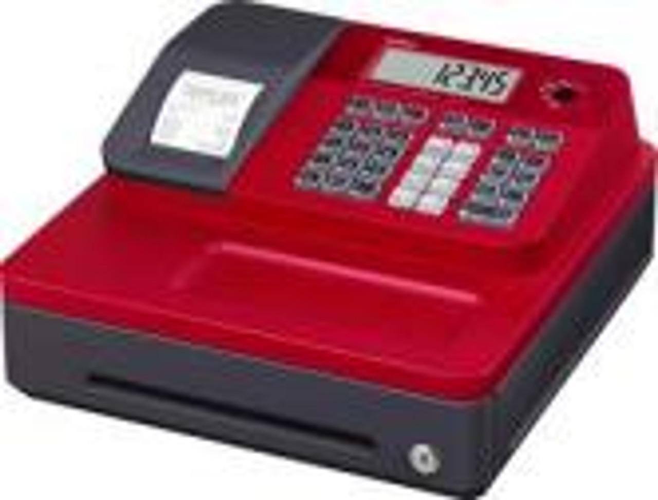 CASIO SE-G1S Cash Register - SE-G1S ECR Red