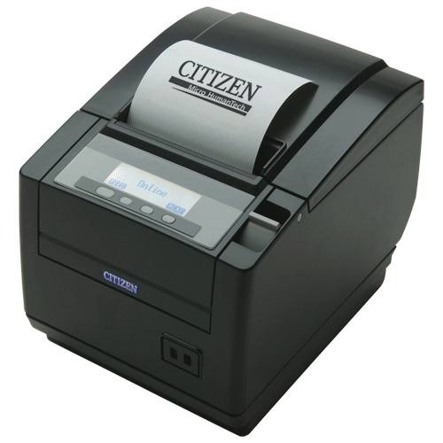 CITIZEN CTS-801II Thermal Printer no interface Black